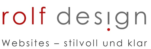 rolf-design, Websites - stilvoll und klar